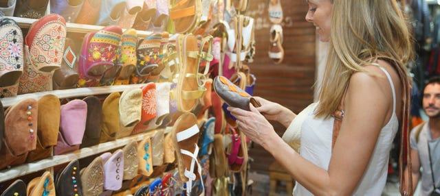 Tour privado de compras por la Medina