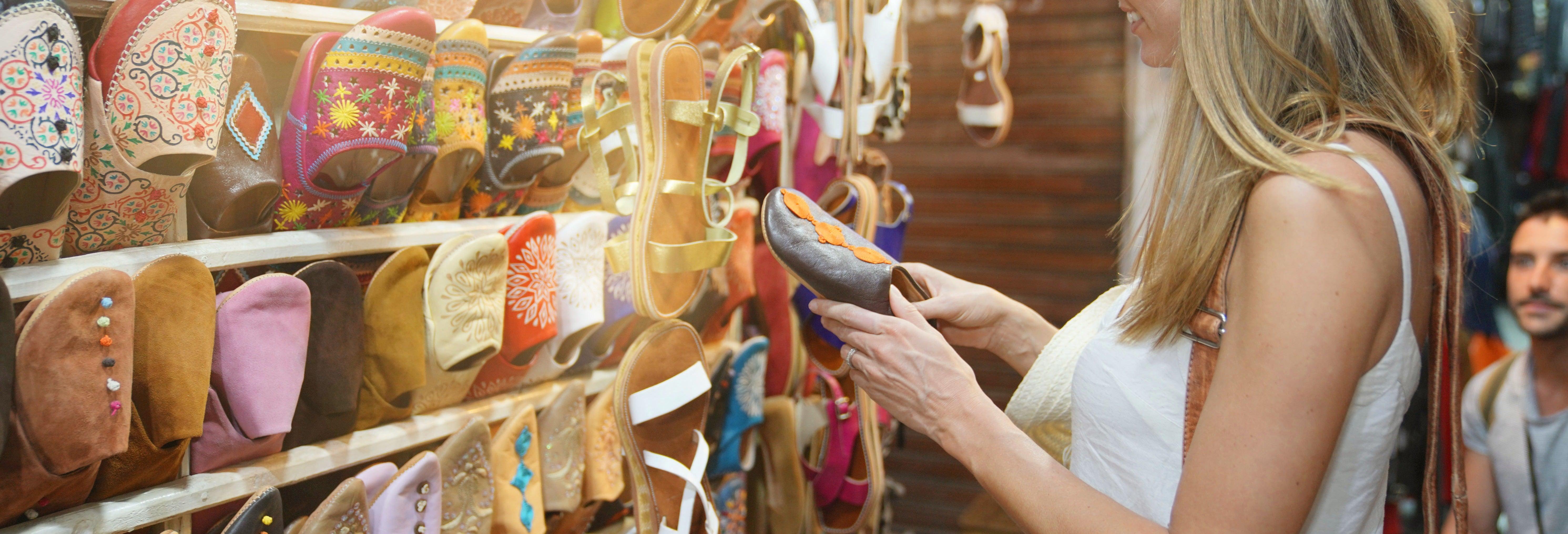 Tour de compras pela Medina