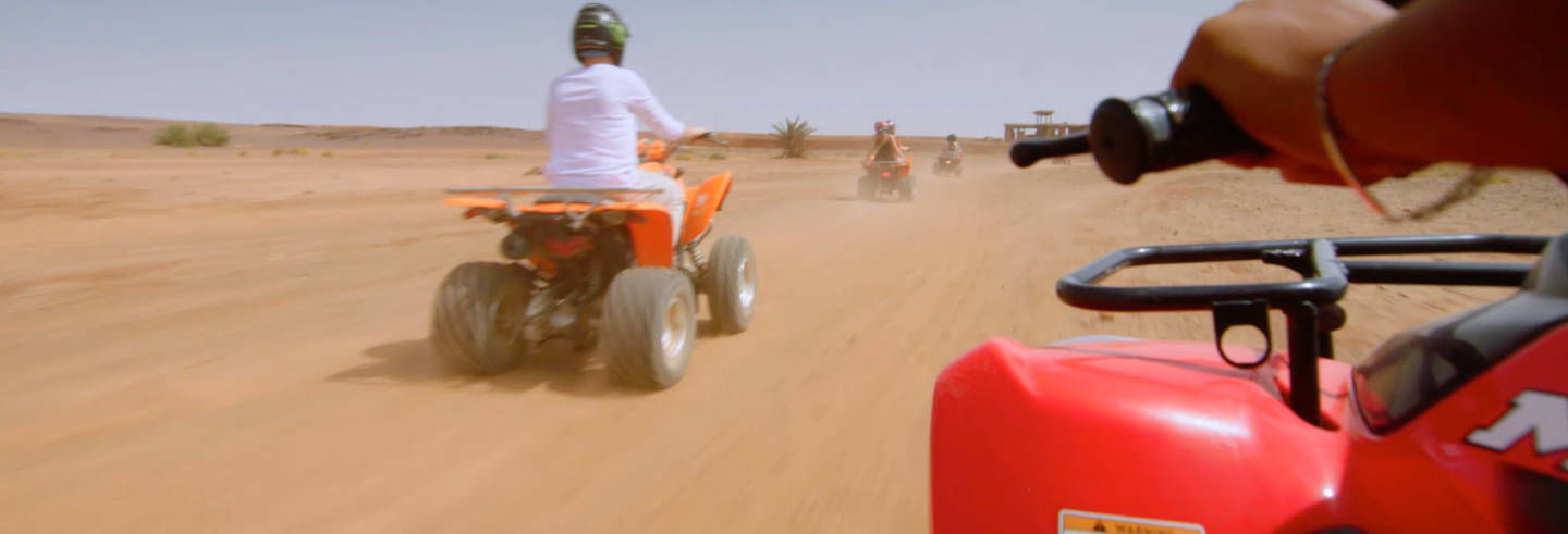 Marrakech Palm Grove Quad Bike Tour