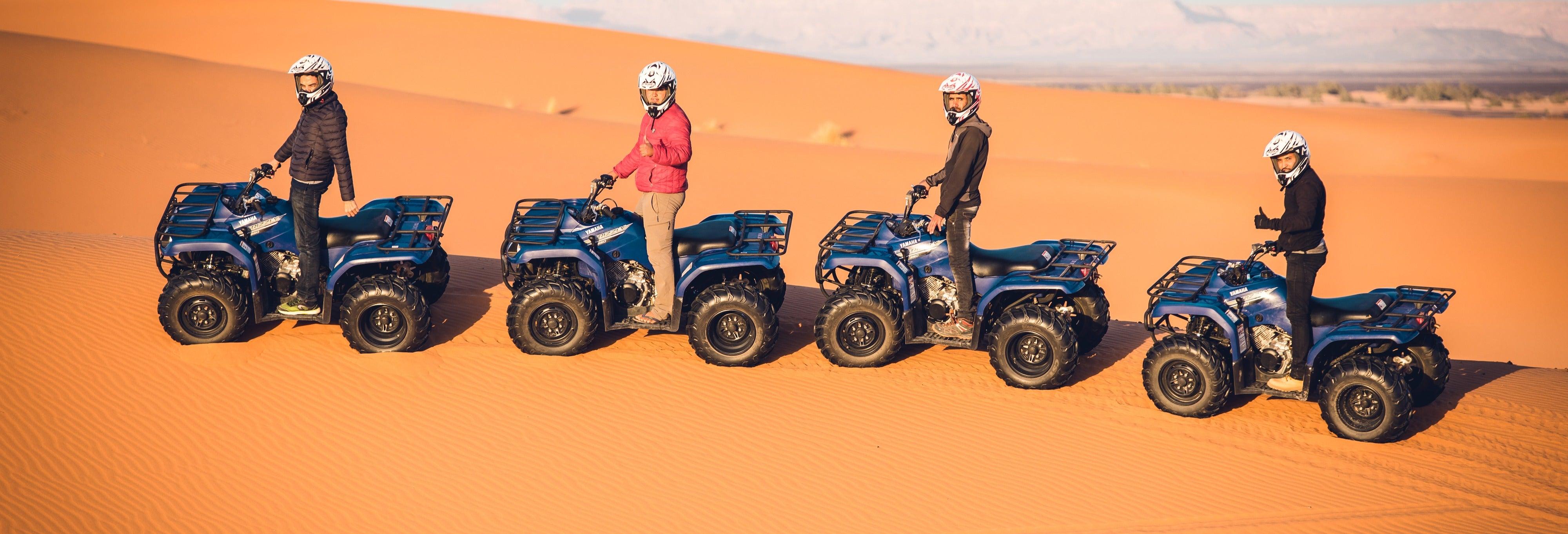 Tour en quad por el desierto de Merzouga