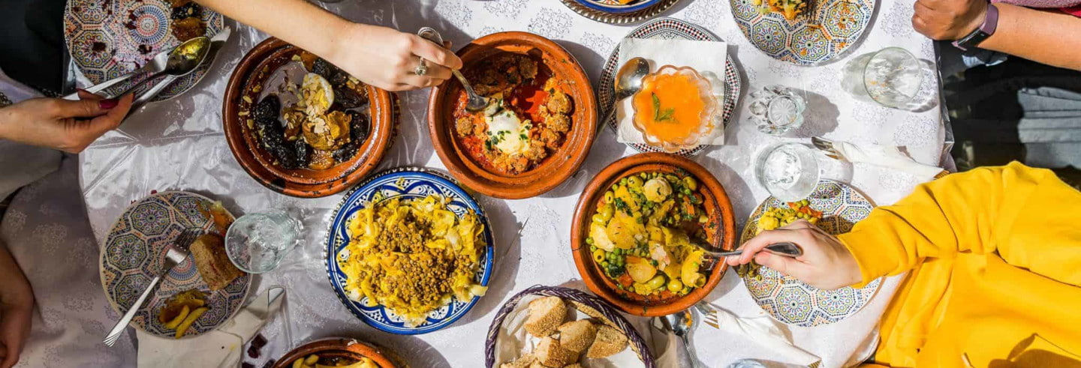 Tour gastronómico por Rabat