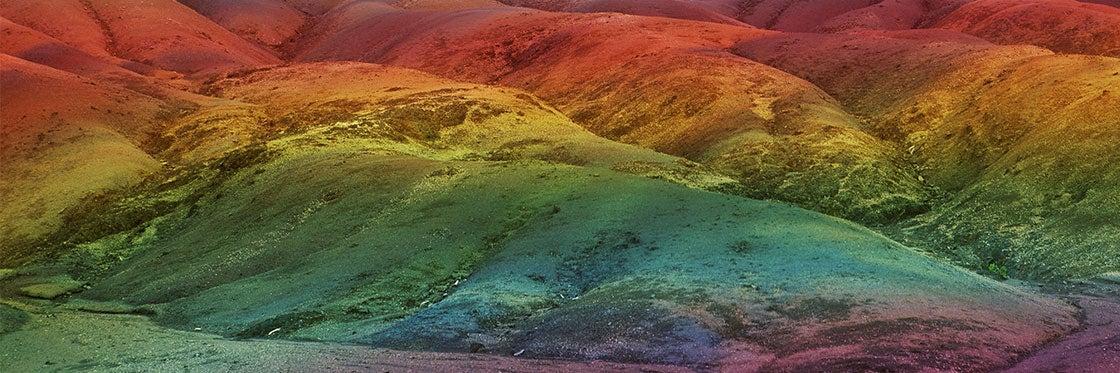 La Tierra de los Siete Colores de Chamarel