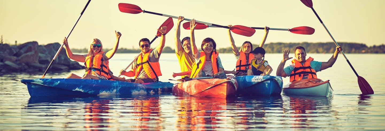 Excursión en kayak + snorkel por la isla de Sacrificios