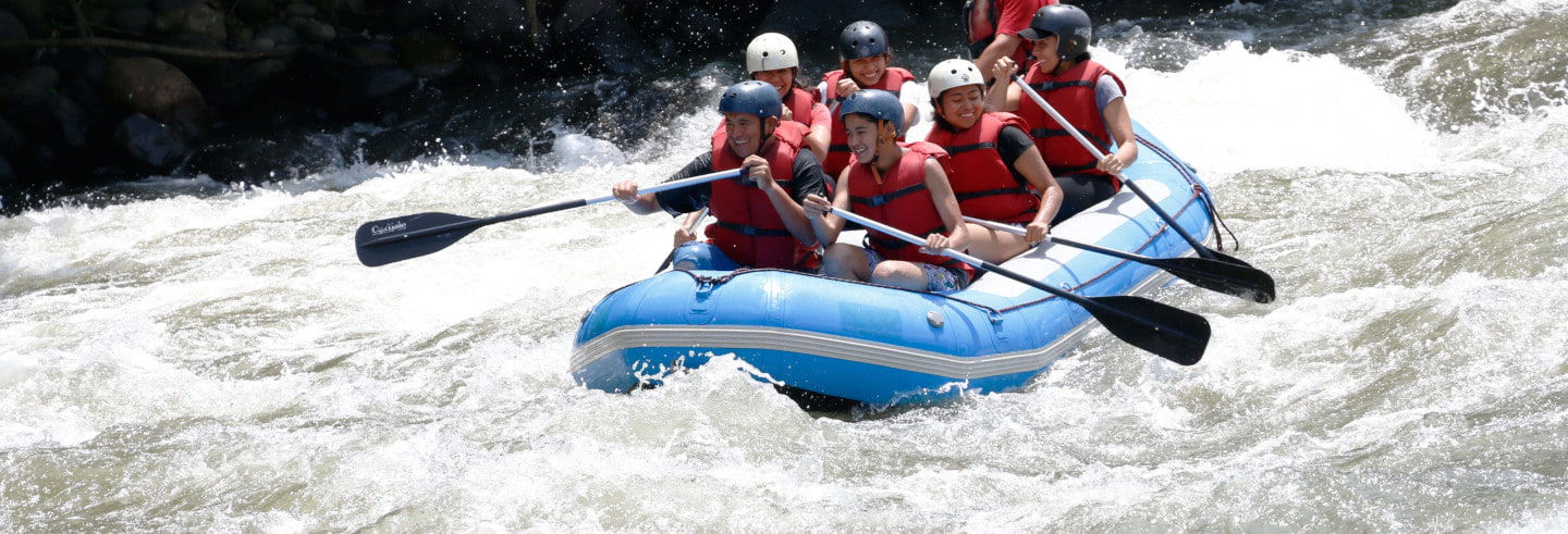 Rafting sul fiume Pescados