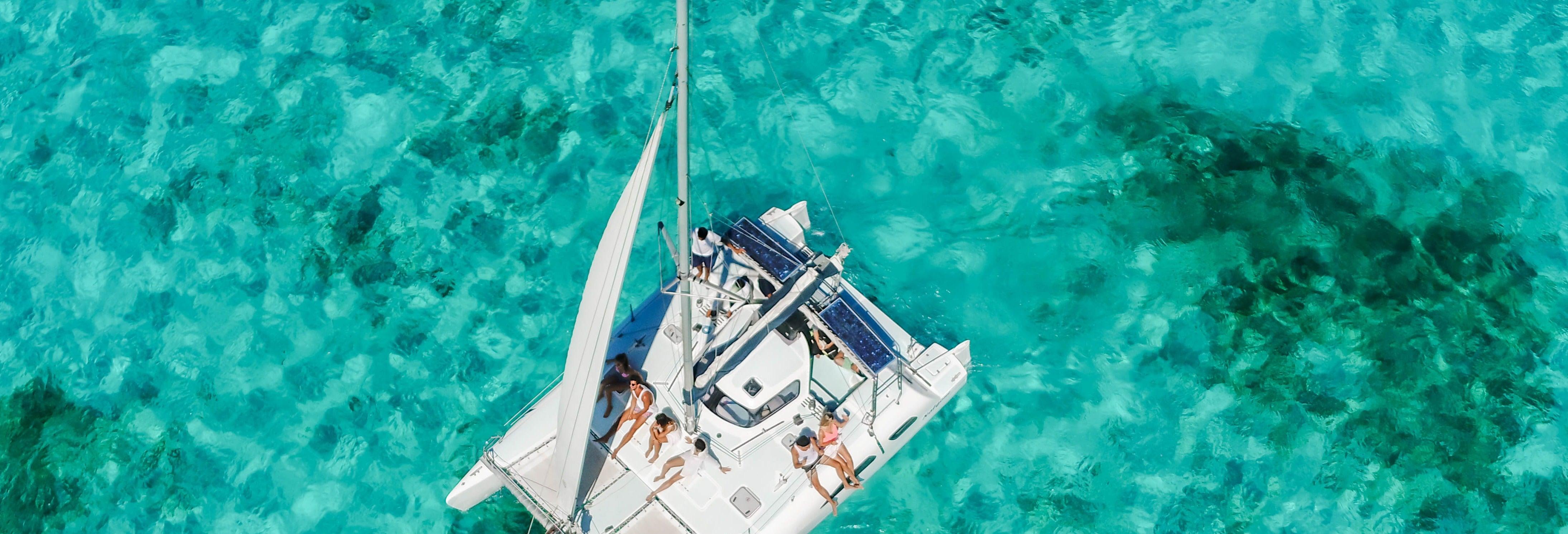 Excursion privée à Isla Mujeres en bateau