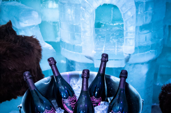 Cool off in the AMMA Club Ice Bar