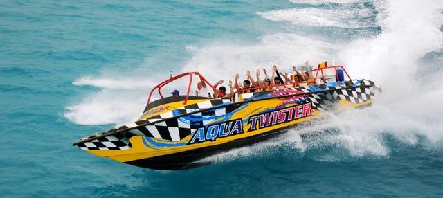 Experiencia Jet Boat en Cancún