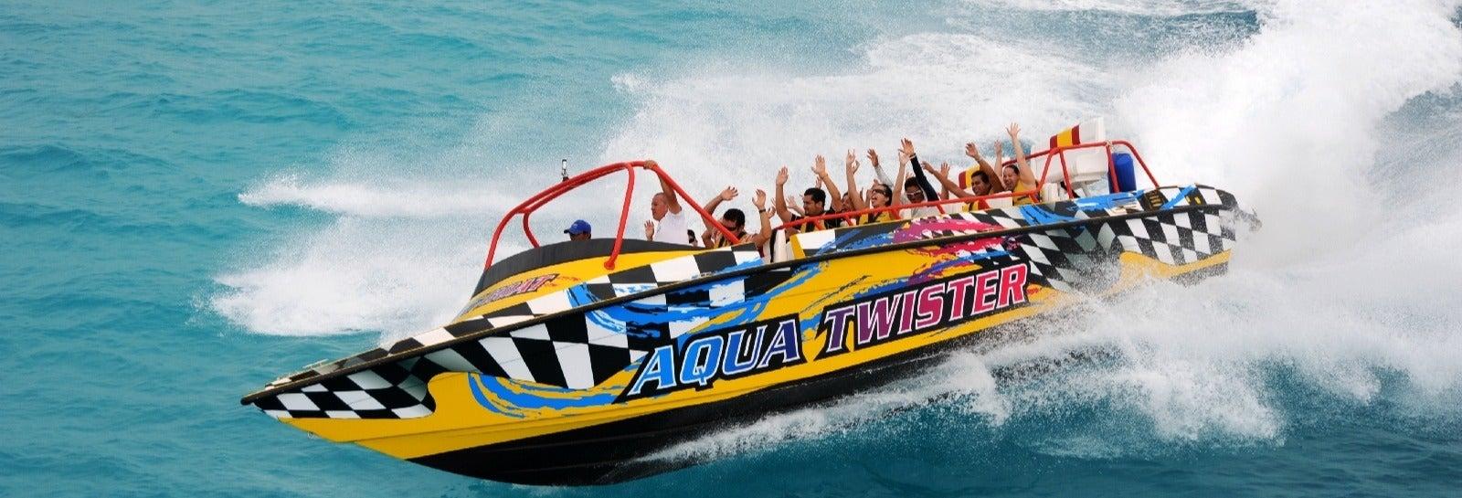Experiência Jet Boat em Cancún
