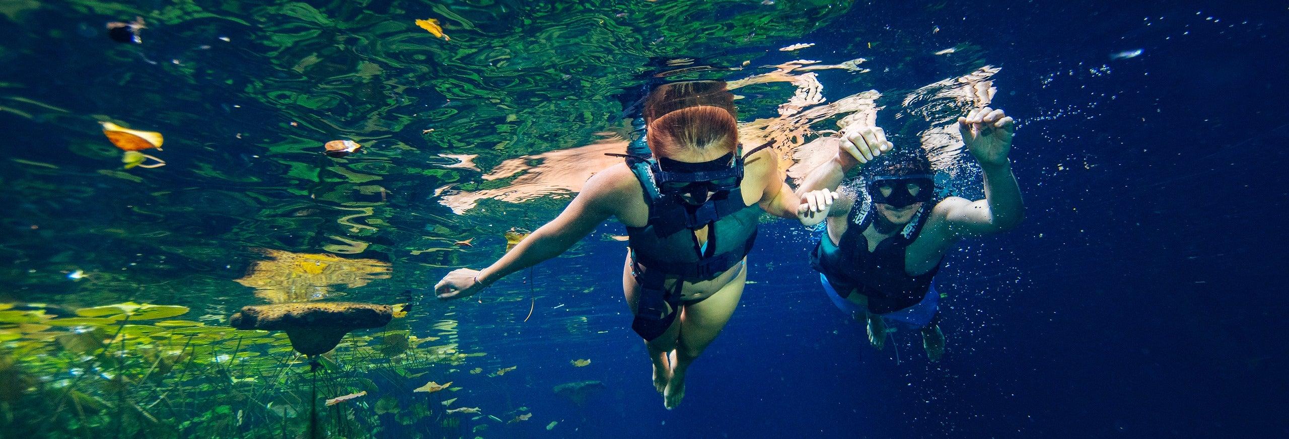 Tour pelos cenotes de Cancún