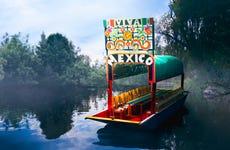Tour serale di Xoximilco