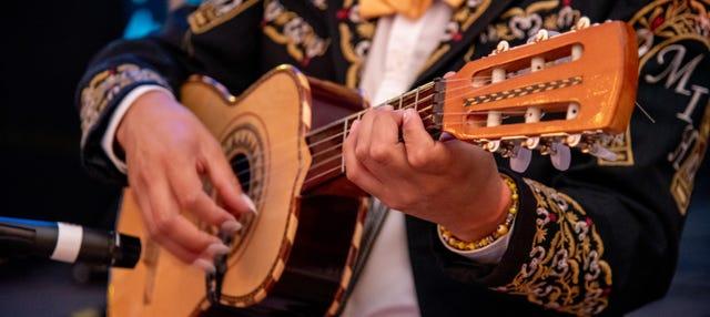 Espectáculo de mariachis en la Plaza Garibaldi