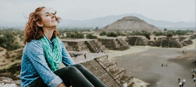 Excursão a Teotihuacán ao entardecer