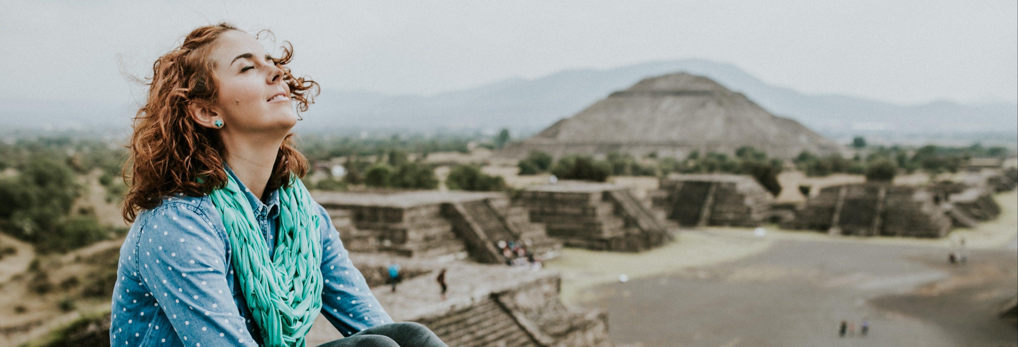 Excursión a Teotihuacán al atardecer