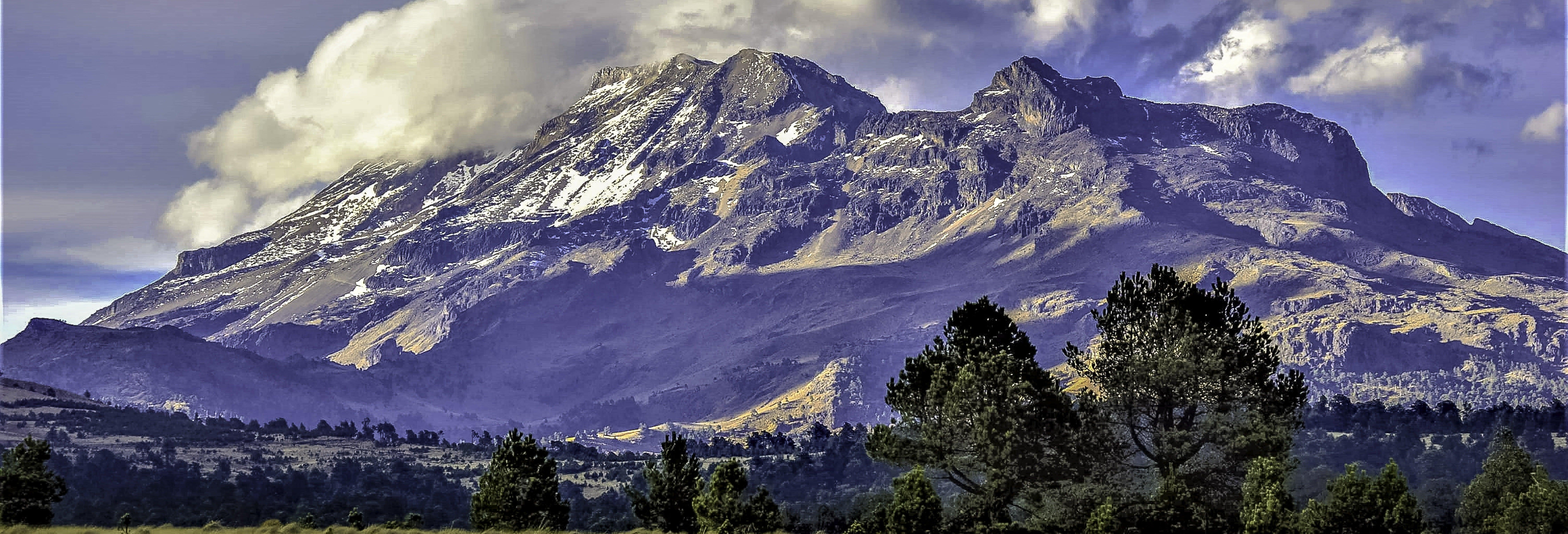 Excursão aos vulcões Popocatépetl e Iztaccíhuatl