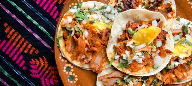 Free tour de tacos mexicanos