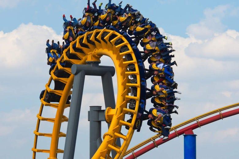 Six Flags Mexico Theme Park Ticket Mexico City