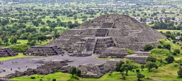 Excursão de bicicleta por Teotihuacán