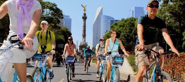 Tour de bicicleta pela Cidade do México