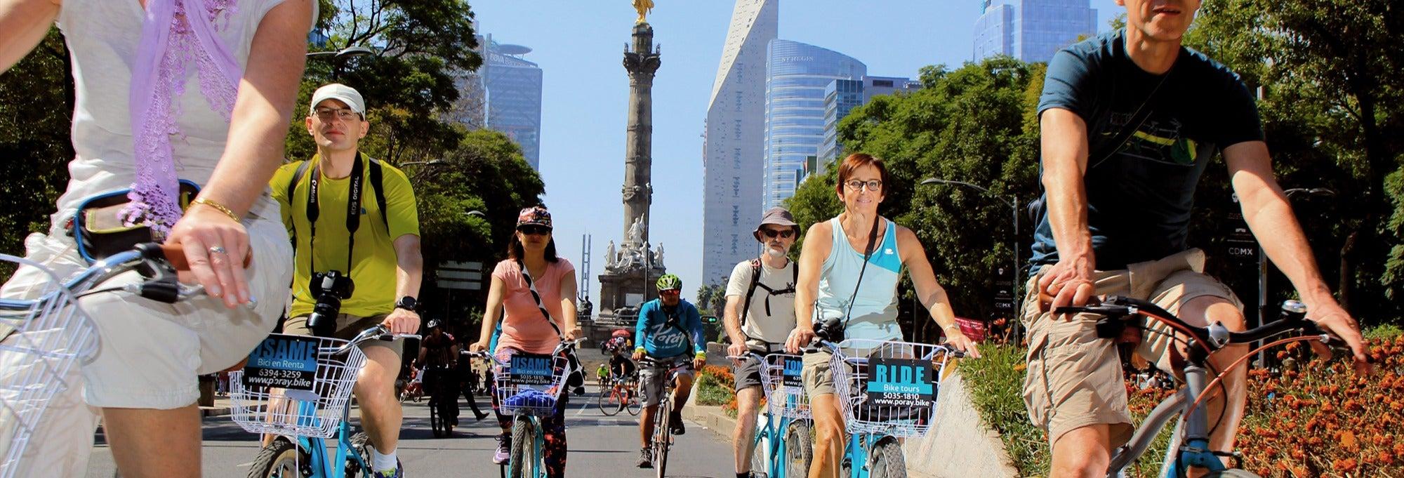 Tour en bicicleta por Ciudad de México