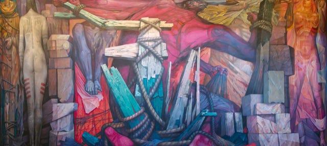 Tour pelos murais da Cidade do México