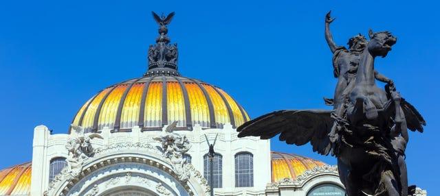 Tour por Ciudad de México + Museo Antropología y Bellas Artes