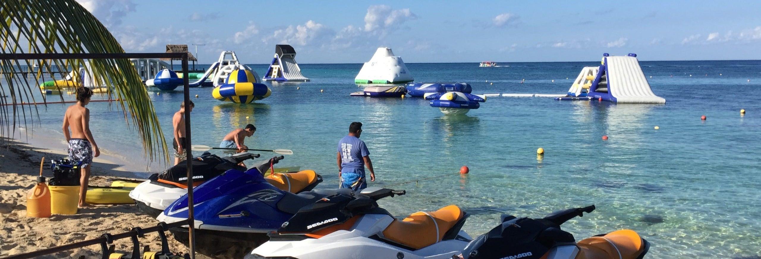 Excursión en moto de agua en Cozumel