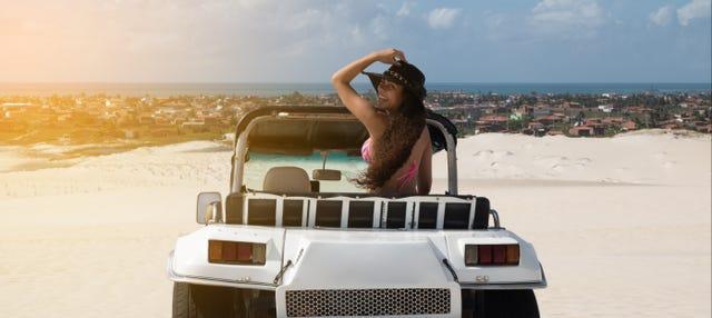 Passeio de buggy + snorkel em Cozumel