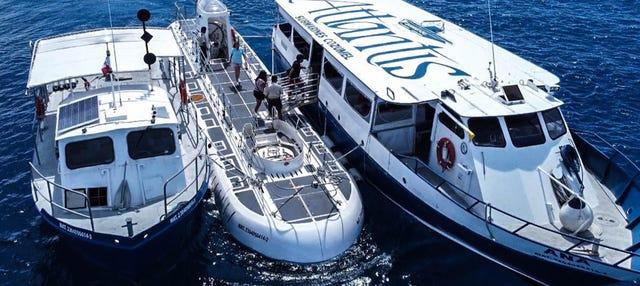 Passeio de submarino por Cozumel