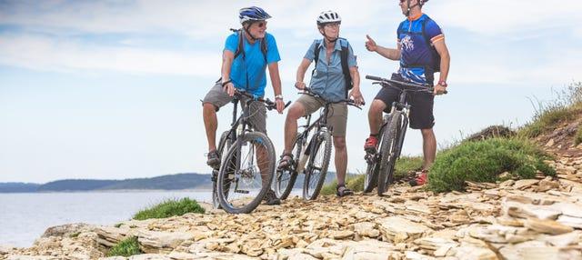 Tour de bicicleta elétrica por Cozumel