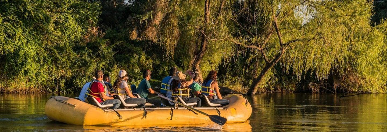 Excursión en balsa por el río Fuerte desde El Fuerte