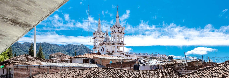 Mazamitla, cascada Los Cazos y Parque Mundo Aventura