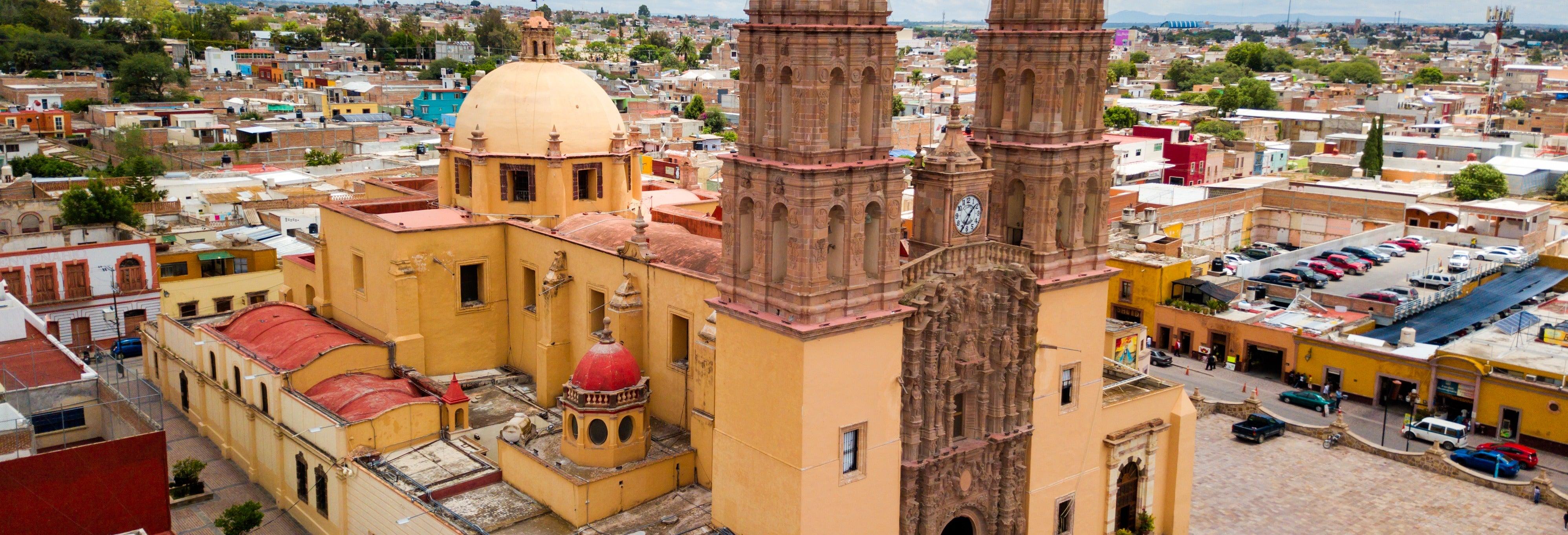 Excursão pelos povoados da independência mexicana