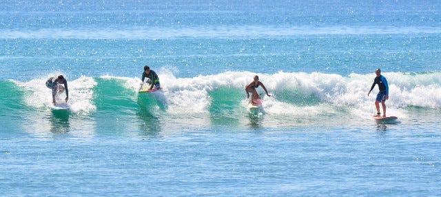 Curso de surfe em Los Cabos