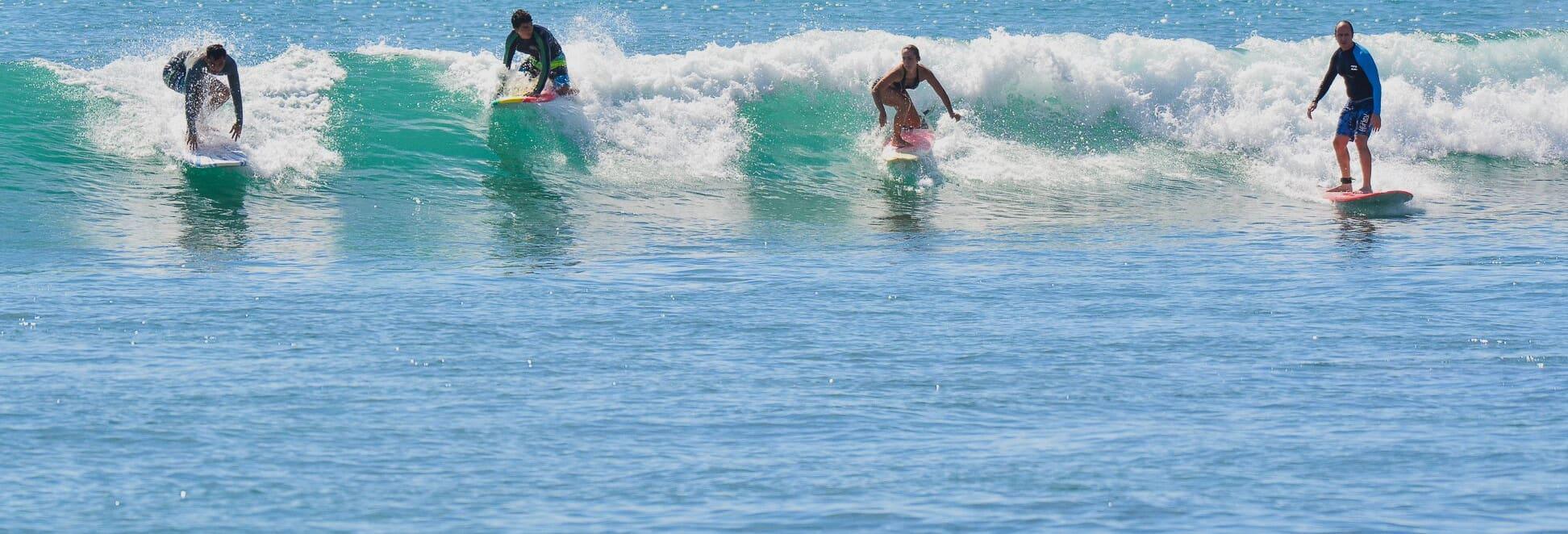 Corso di surf a Los Cabos
