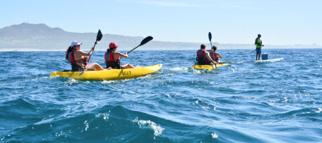 Caiaque e snorkel em Los Cabos
