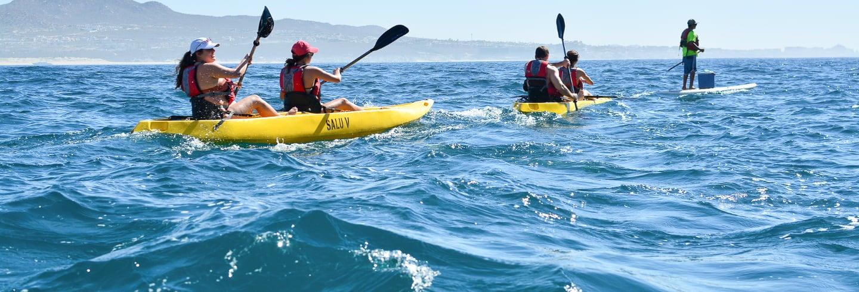 Kayak y snorkel en Los Cabos