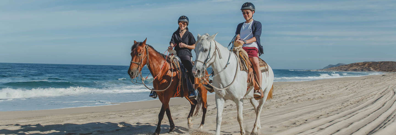 Passeio a cavalo pelo deserto de Los Cabos