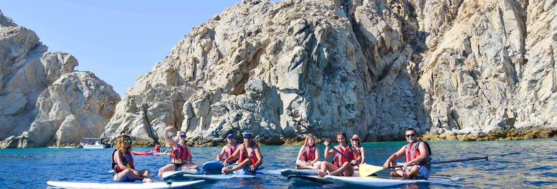 Snorkel e paddle surf em Los Cabos