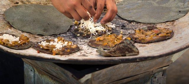 Comida y taller de cocina mexicana