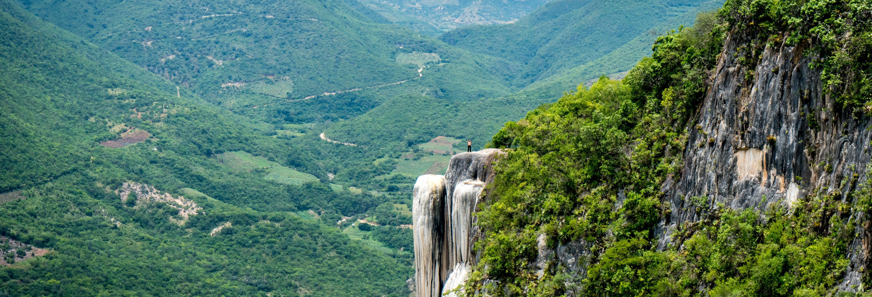 Excursión a Hierve el Agua y Teotitlán del Valle