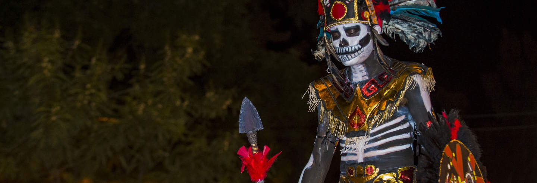 Visite nocturne du Día de los Muertos