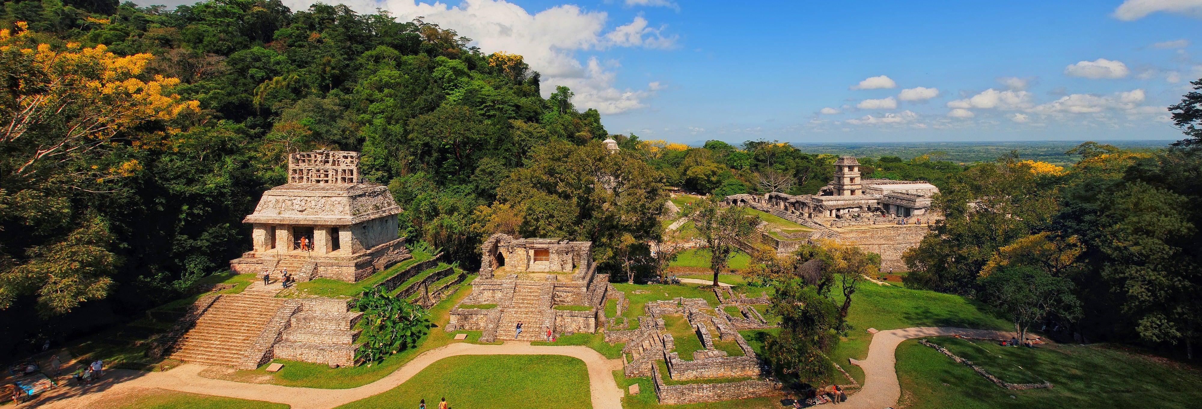 Excursión a las zonas arqueológicas de Pomoná y Palenque