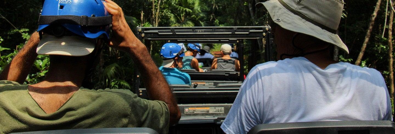 Jeep safari por Reserva Nativa