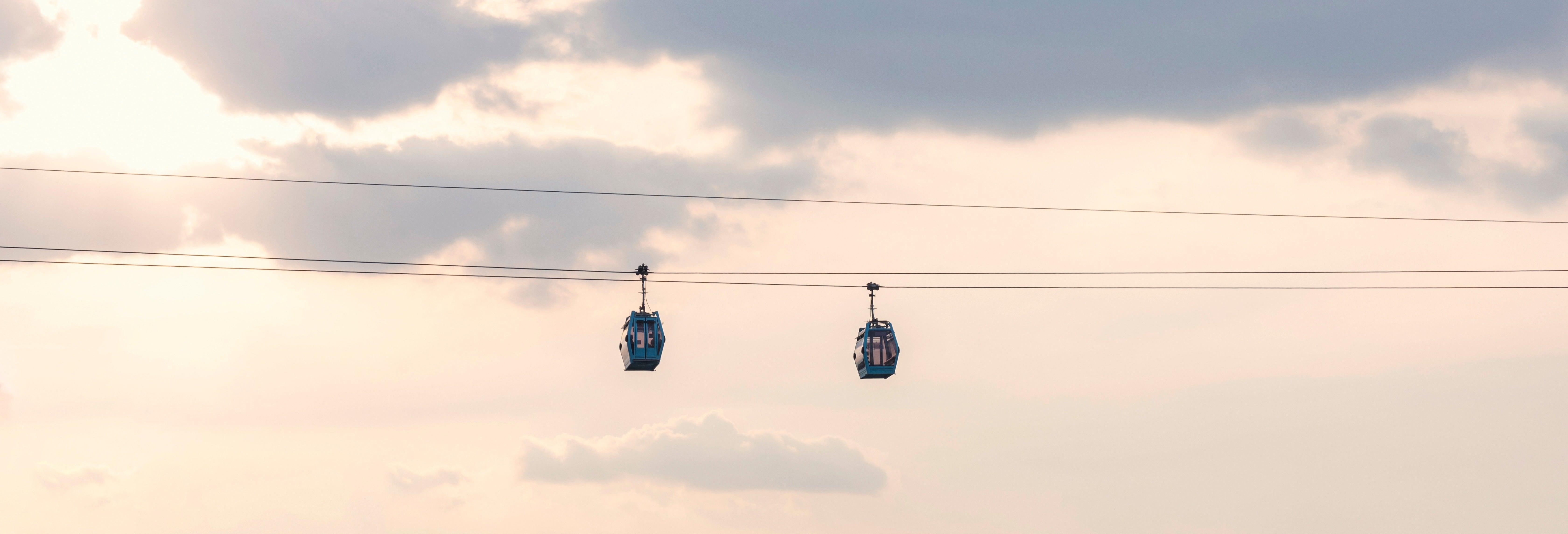 Ingresso do teleférico de Puebla