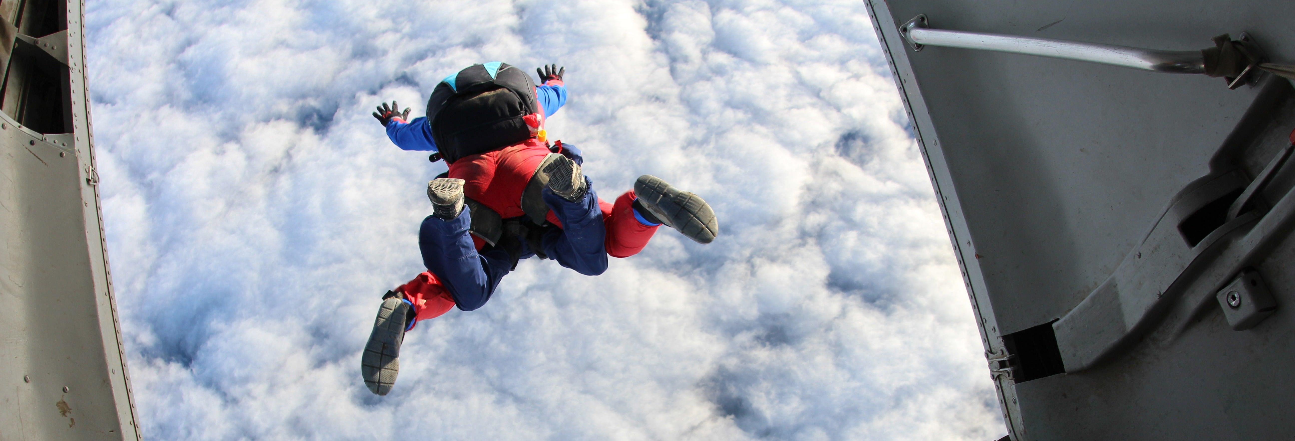 Salto en paracaídas en Atlixco