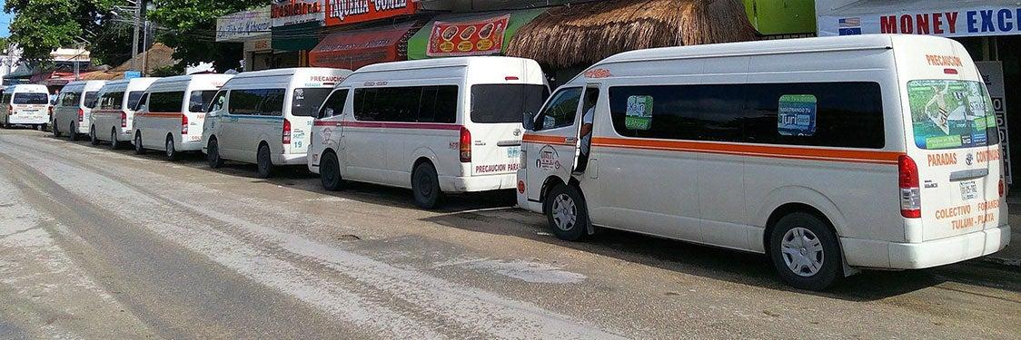 Transporte en Riviera Maya