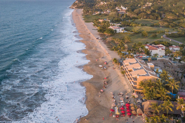 Aerial view of San Pancho