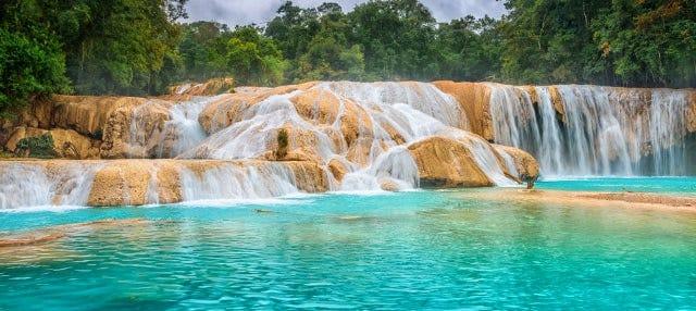 Água Azul, Misol-Há e Palenque