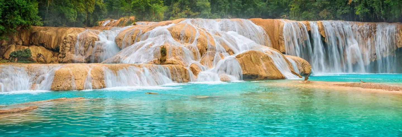 Agua Azul, Misol-Há et  Palenque