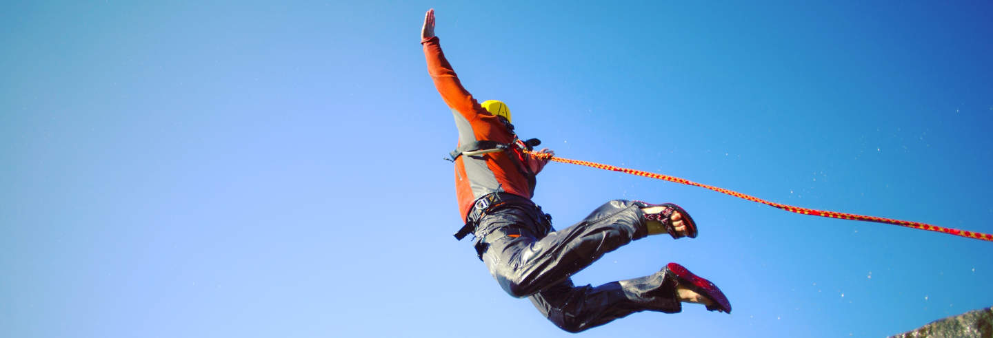 Bungee jumping em Tasquillo